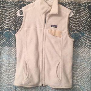White Patagonia vest